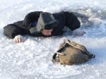 Меры безопасности на льду, при ловле со льда.